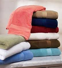 Towels, fabric and non-woven textiles