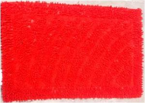 UV clear Shaggy Bathmat set Stock