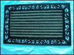 COIR WITH RUBBER GRILL MAT Stock