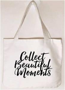 Cotton Shopping bag stock