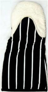 Heavy Quality Printed Stripe Glove with tyerry inside Stock