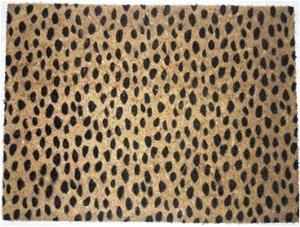 PVC Backed Printed  Coco Mats  Stock