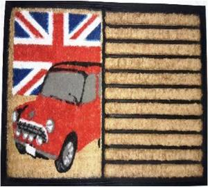 Printed Coco Tufted DoorMats Stock
