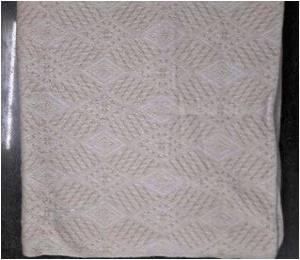 100% Cotton Bed Throws Stock