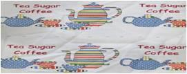 Printed Cotton Table Cover (4 side hemmed) Stock
