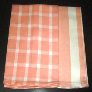 Azo free Tea towel Set (Checks & Stripes) Stock