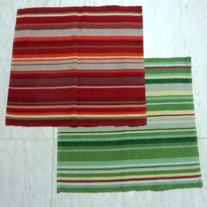 STRIPED RIBBED PLACEMATS