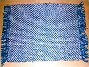 Designer Pattenred Cotton rug Stock