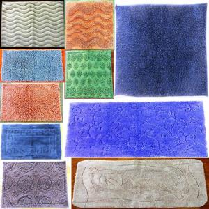 UV clear Bathmat with Latex backing