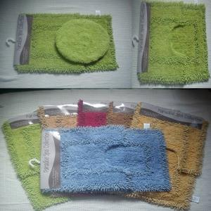 2 pc bathmat set & 3 pc bathmat set