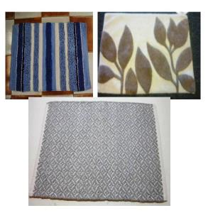 Uv Clear Bath Rugs & Bathmats