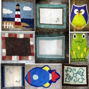 Kids Bathmats Stock