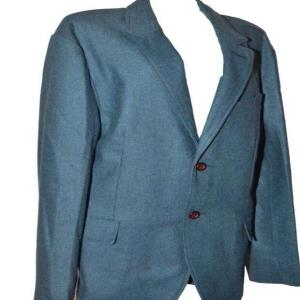 Men's Raymond wool blazer with buttons