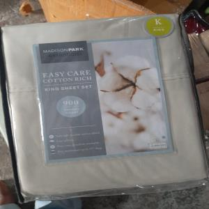 Satin Sheet Set Stock King and Queen