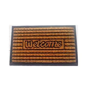 coir brush rubber mat stock