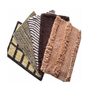 Cotton bathmats stock