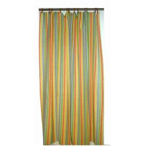 Shower Curtains with Button Holes stock