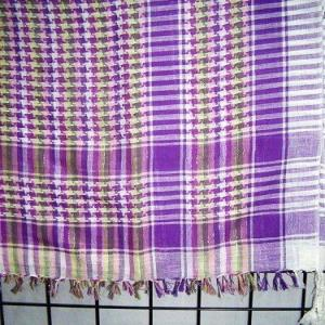 COTTON LUREX SCARF