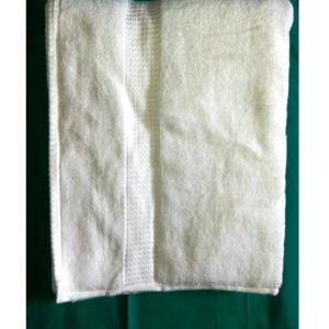 White Terry Towel Stock stock