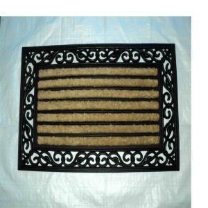 ET-91- COIR BRUSH RUBBER GRILL MAT  STOCK