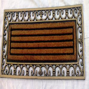 ET-08- COIR BRUSH RUBBER GRILL MAT STOCK