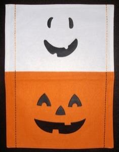 Halloween Fused placemat stock
