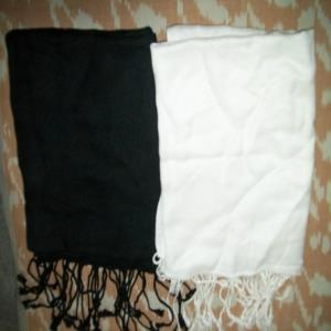 Plain Viscose Pashmina Scarves