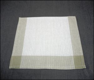 Plain Stripe Kitchen Towel stock