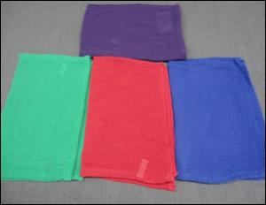 Single Color Waffle Towel stock