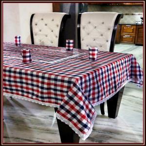 Table Cover & napkin Set Stock