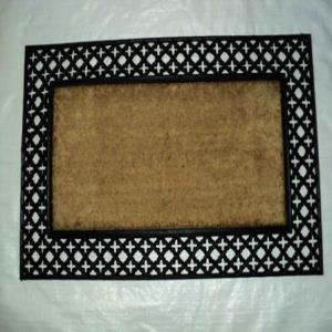 WS-04- COIR BRUSH RUBBER GRILL MAT STOCK