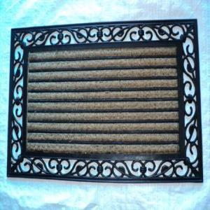 WS-15- COIR WIH RUBBER GRILL MAT STOCK