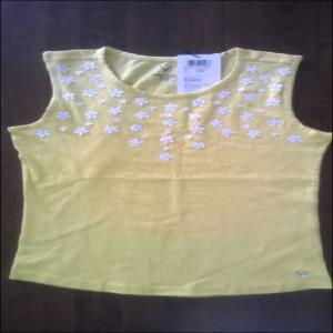 Allen Solly Kids Top with embroidery stock