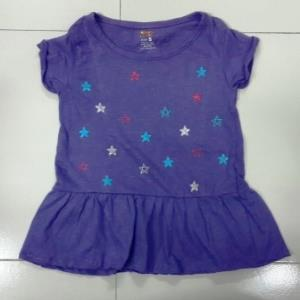 French Toacst Girls Fancy Frock stock
