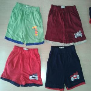 Girls and boys shorts stock