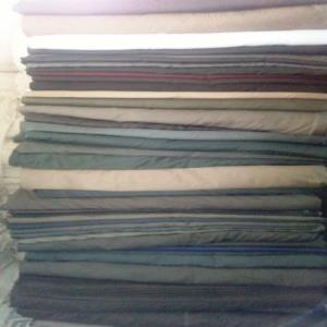 Cotton Bed Sheet fabric stock