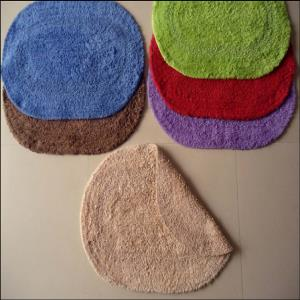 Shaggy Ovel Bathmat stock