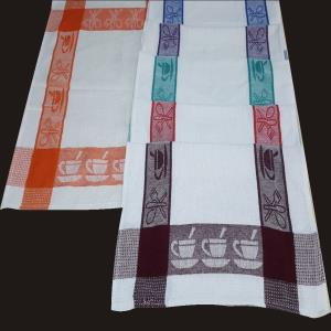 Jacquard Border Kitchen Towel