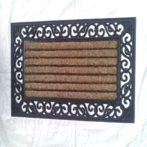 WS- 27- COIR BRUSH RUBBER GRILL MAT STOCK