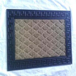 WS-30- COIR WITH RUBBER EMBOSS GRILL MAT STOCK