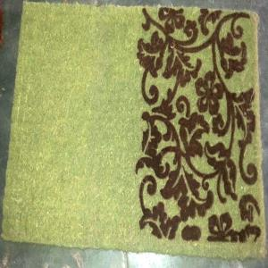 FLOCKED Printed FM 2 Quality Hand Woven mats Stock