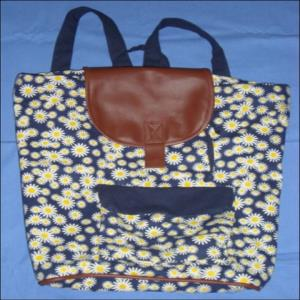 Cotton Bag - Daisey stock