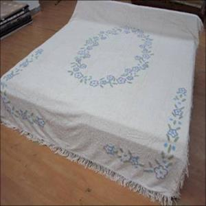 TUFTED BEDSPREAD STOCK