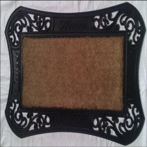 WS-03- COIR BRUSH RUBBER GRILL MAT  Stock