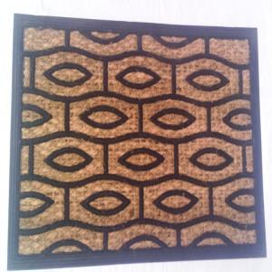 Coir with rubber mat stock