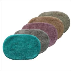 Oval Tufted Bathmat Stock