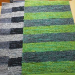 Feather Striped Rug Stock
