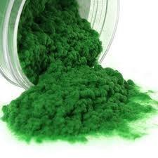 AMBE Parrot Green Nylon Flock Powder for Velvet