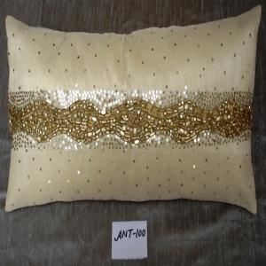 Hand Embroidered Cushion Cover Stock