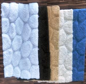 Designer UV Clear Bathmat Stock